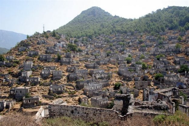 Τουρκία: Στο «σφυρί» για εκμετάλλευση ελληνικό χωριό-φάντασμα Λιβίσι