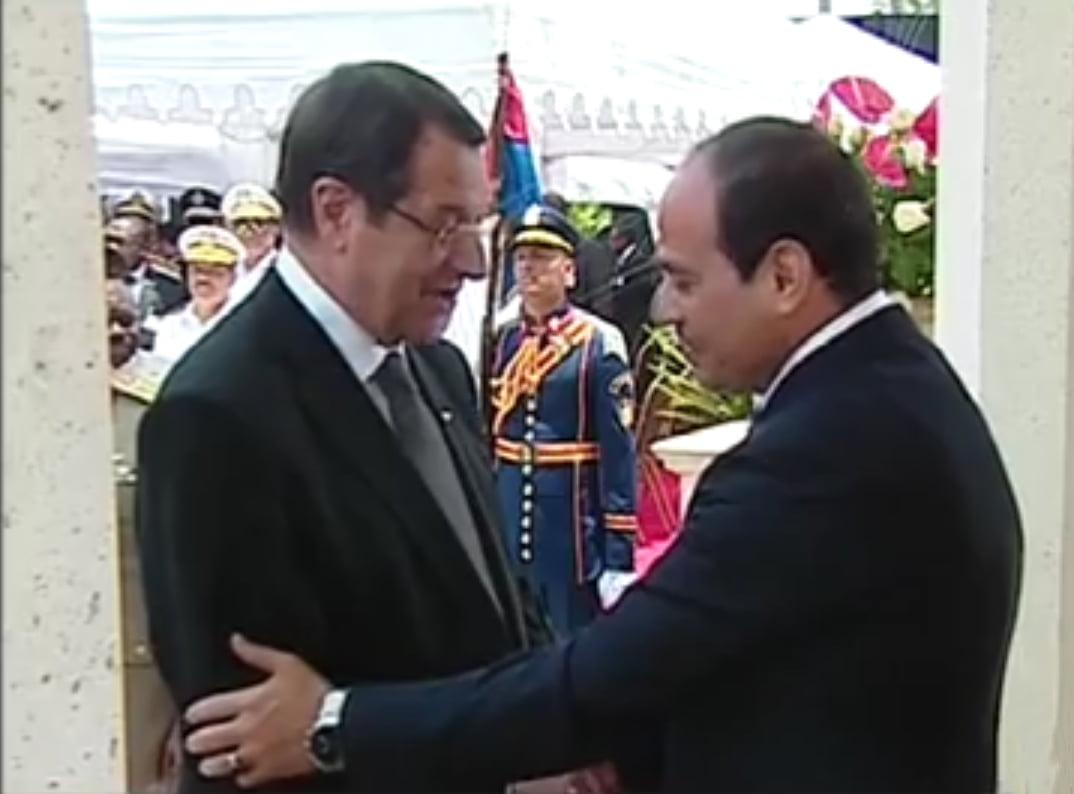 Για ενέργεια και τρομοκρατία συζήτησε ο πρόεδρος Ν. Αναστασιάδης με τον πρόεδρο της Αιγύπτου Σίσι και τον πρωθυπουργό του Λιβάνου Σαλάμ