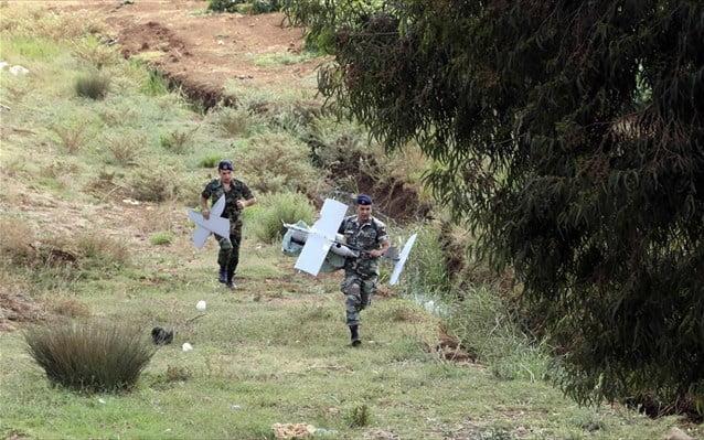 Μη επανδρωμένο αεροσκάφος του Ισραήλ κατέπεσε στον Λίβανο