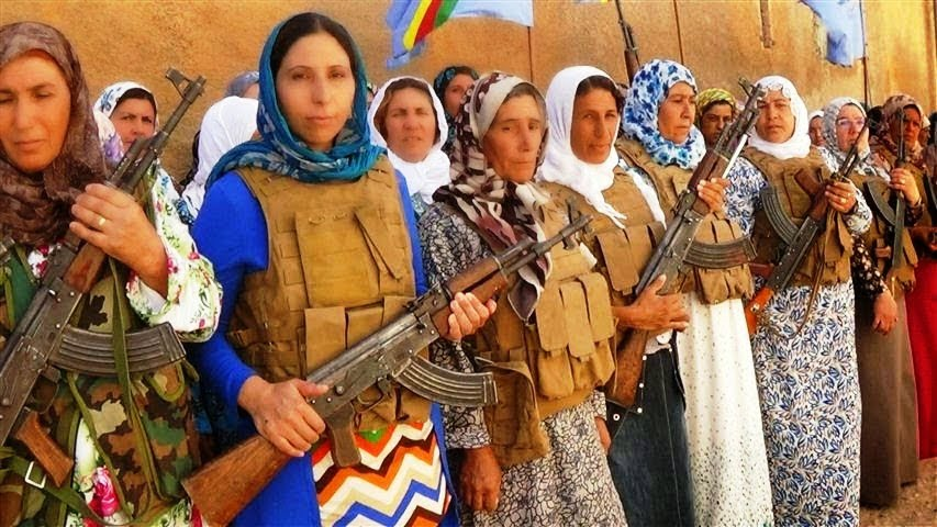 Πορεία αλληλεγγύης στον κουρδικό λαό (σήμερα στις 18.00, Προπύλαια)
