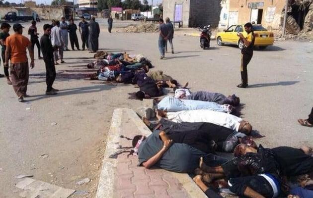 Ισλαμικό Κράτος: Τώρα δολοφονεί και… σουνίτες (φωτογραφίες)
