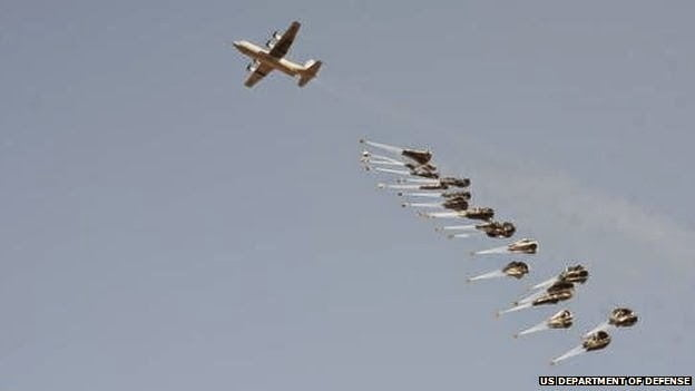 Εξαπόλυση όπλων μακρού πλήγματος από μεταφορικά αεροπλάνα αλλάζει το τοπίο…