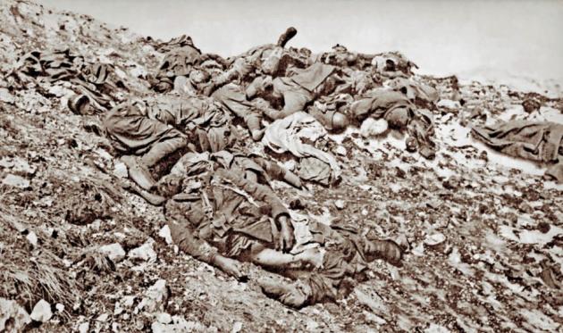Οι Ατίμητοι Νεκροί της Μεγάλης Μάχης της Ελλάδας του 1940 – 1941