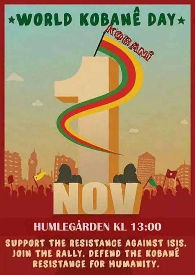 Παγκόσμια έκκληση αλληλεγγύης στην Kobane – Μυρίζει μπαρούτι στην Τουρκία
