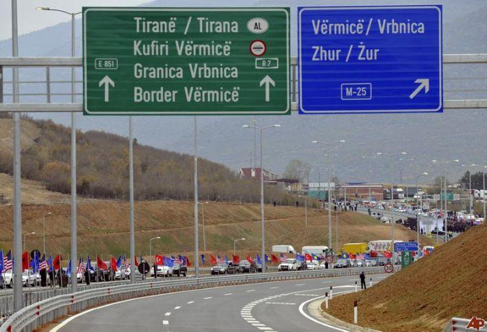 Η οικονομική ενοποίηση των αλβανοφώνων πληθυσμών της Βαλκανικής