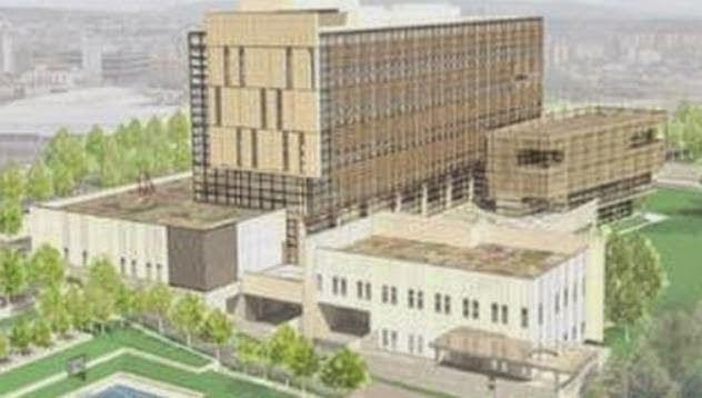 Τεράστιο οικοδόμημα για την πρεσβεία των ΗΠΑ στο Κοσσυφοπέδιο