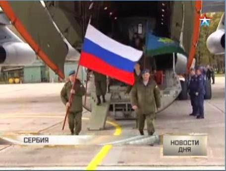 Ο Ρωσικός Στρατός επιστρέφει στη Σερβία