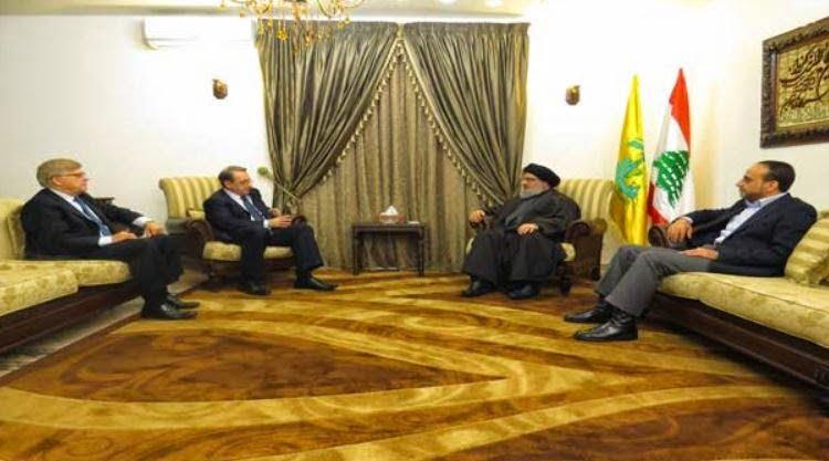 Ειδικός αντιπρόσωπος του Πούτιν συναντήθηκε με τον ηγέτη της Χεζμπολάχ
