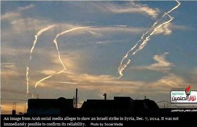 Ισραηλινά αεροσκάφη βομβάρδισαν περιοχή στα σύνορα Συρίας – Λιβάνου