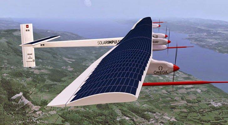 Το Solar Impulse 2 έτοιμο για τον πρώτο γύρο του κόσμου χωρίς καύσιμα