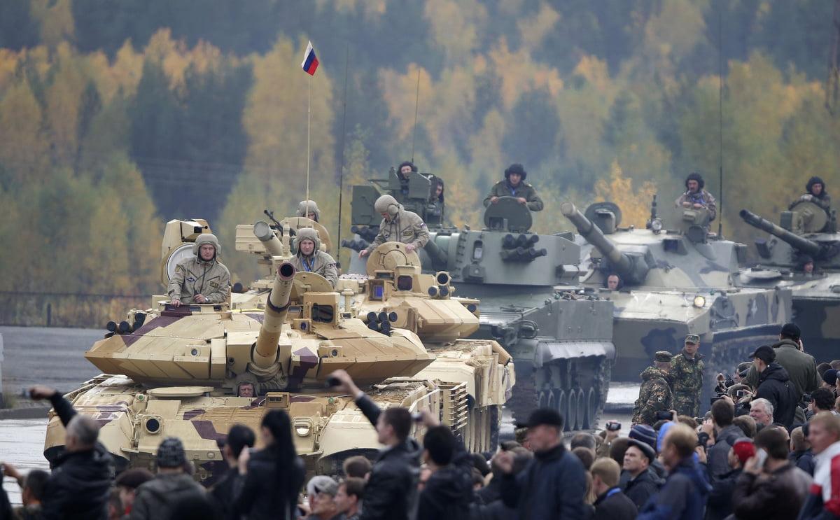 Η Ρωσία παραμένει από τους μεγαλύτερους εξαγωγείς όπλων στον κόσμο