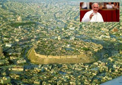 Ο Πάπας θα επισκεφθεί την περιοχή του Κουρδιστάν