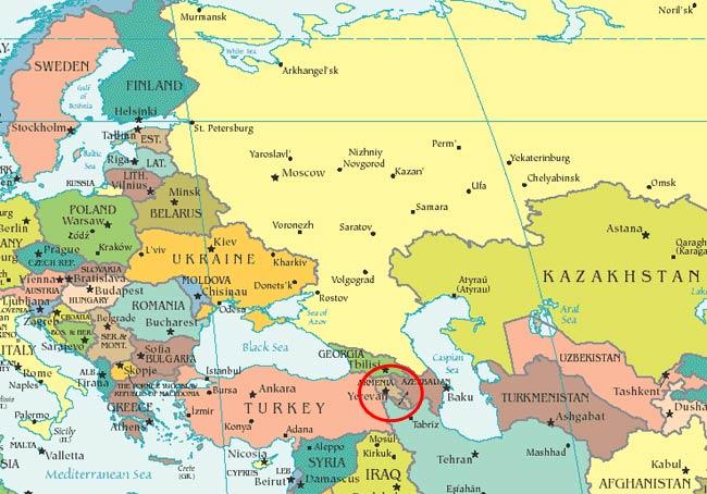 Αρμενία: μεταξύ Ευρώπης και Ασίας