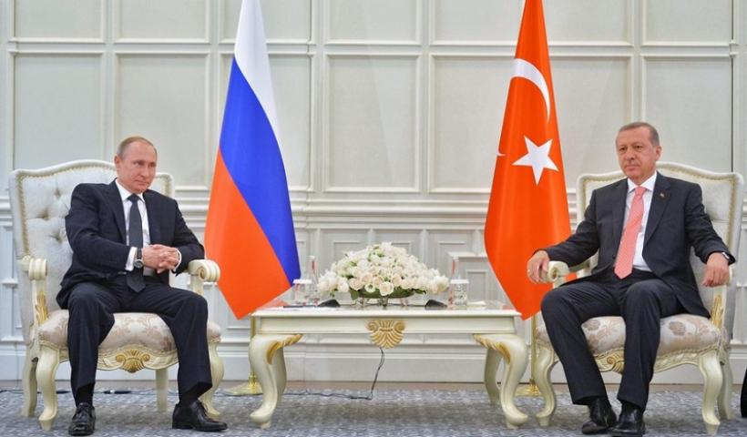 Συνομιλίες Πούτιν – Ερντογάν στο Μπακού