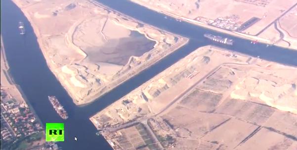Η Νέα Διώρυγα του Σουέζ: το «δώρο της Αιγύπτου στην ανθρωπότητα»