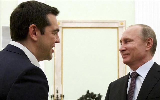 Συγχαρητήριο τηλεγράφημα Πούτιν στον Τσίπρα