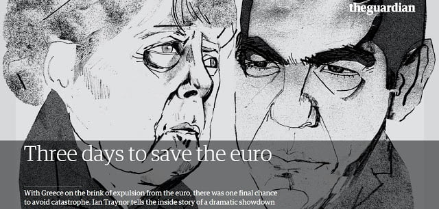 Guardian : Three days to save the euro