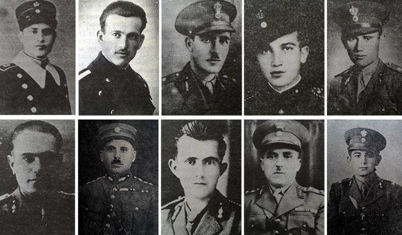 Οι Πόντιοι αξιωματικοί που έπεσαν στον πόλεμο του 1940-41