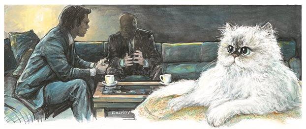 Ο ηγέτης, ο εκδότης και… η γάτα των Ιμαλαΐων