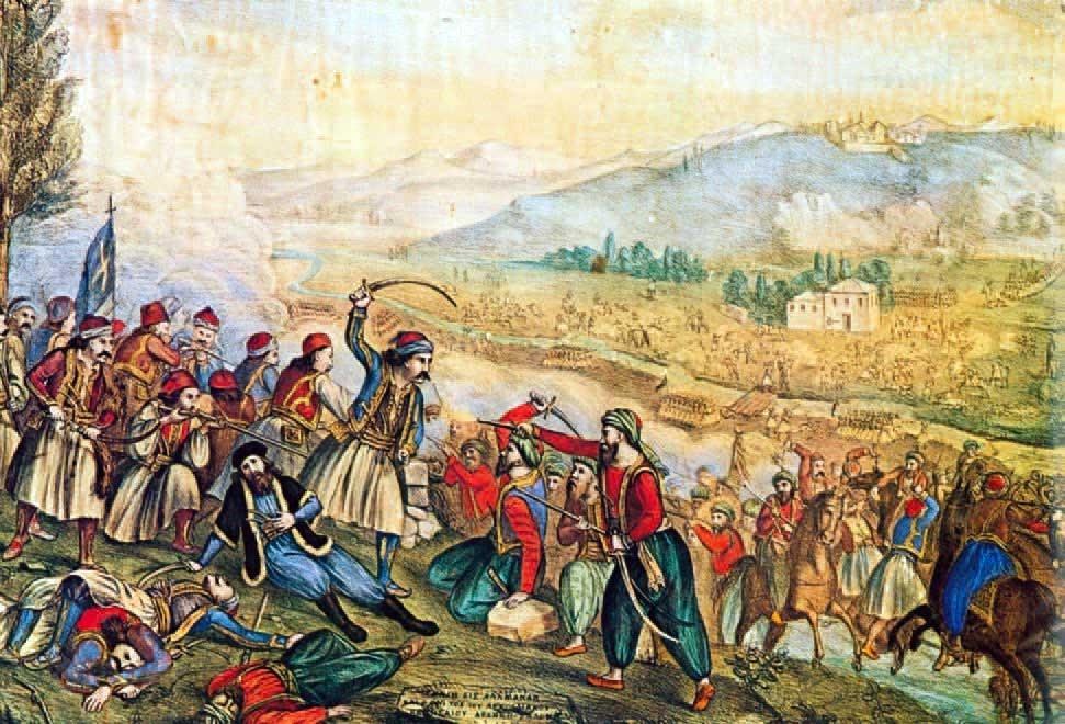 15 Μαΐου 1822: Τουρκικά στρατεύματα υπό τον Χουρσίτ πασά και τον Ομέρ Βρυώνη κυκλώνουν το Σούλι
