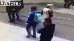 Απίστευτο βίντεο δείχνει τον βομβιστή στην Κωνσταντινούπολη