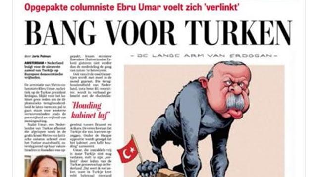"""Οι Έλληνες δημοσιογράφοι κάνουν την """"πάπια"""" – Ολλανδοί σώζουν την τιμή της Ευρώπης – """"Πίθηκος"""" ο Ερντογάν"""