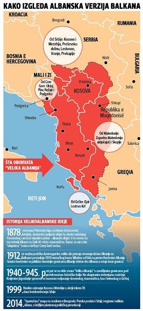 Σερβικό δημοσίευμα: «Το Μαυροβούνιο αποδέχεται μια Μεγάλη Αλβανία;»
