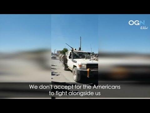 Αμερικανοί στρατιώτες εισήλθαν σε συριακή πόλη στα σύνορα με Τουρκία: Αναγκάστηκαν να αποχωρήσουν