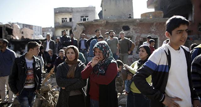 Αραβικές φυλές στη βόρεια Συρία διαμαρτύρονται για την τουρκική κατοχή