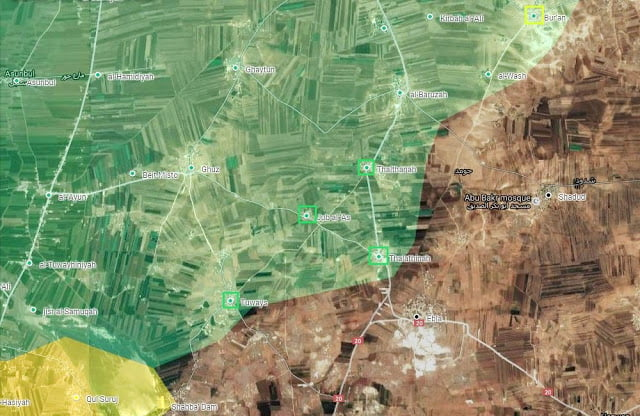 SDF vs FSA/ΤΕΔ: Ο συνασπισμός FSA/ΤΕΔ προελαύνει προς τη στρατηγικής σημασίας πόλη της Αλ-Μπάμπ στη Βόρεια Συρία