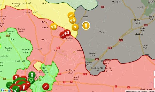 31.10.2016, 19:00, SDF vs SFA/ ΤΕΔ: Προέλαση του SDF (Κούρδοι) προς την Αλ-Μπαμπ με την υποστήριξη του συριακού κυβερνητικού στρατού