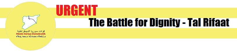 Τώρα: Μάχες SFA vs SDF στη Μάρεα και Ταλ Ριφάατ