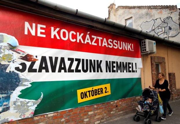 Αμήχανη η ΕΕ μπροστά στο δημοψήφισμα στην Ουγγαρία για τους πρόσφυγες