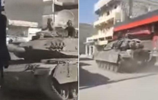 Τουρκικά τανκς στη συριακή Αζάζ με αποστολή να σκοτώσουν Κούρδους (βίντεο)