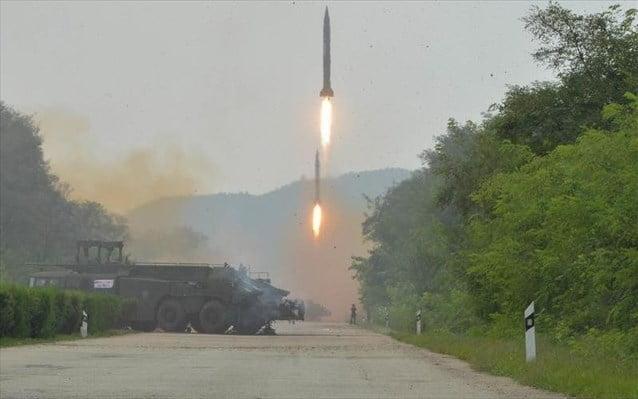 Συντονισμός ενεργειών ΗΠΑ – Ιαπωνίας – Ν. Κορέας έναντι των βορειοκορεατικών απειλών