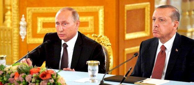 Ψυχρός  Ρωσικός  Απολογισμός Της Προσέγγισης Πούτιν Ερντογάν