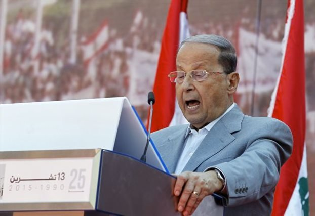 Νέος πρόεδρος του Λιβάνου ο πρώην στρατηγός Μισέλ Αούν