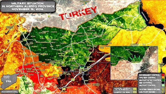 Οι Τούρκοι στην Αλ Μπαμπ: φήμες για παράδοση της πόλης από το Νταές χωρίς μάχη…