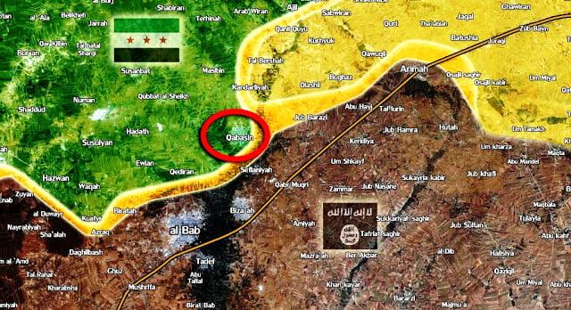 Μάχη για την Αλ Μπαμπ: Οι κουρδικές δυνάμεις επιτέθηκαν τώρα στους τουρκόφιλους ισλαμιστές μαχητές στην προέλαση τους προς την Αλ Μπαμπ