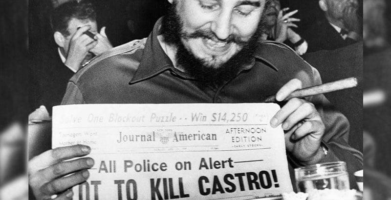 Όταν η CIA προσπαθεί να σε δολοφονήσει 638 φορές, αλλά εσύ επιλέγεις να πεθαίνεις με τους δικούς σου όρους στα 90