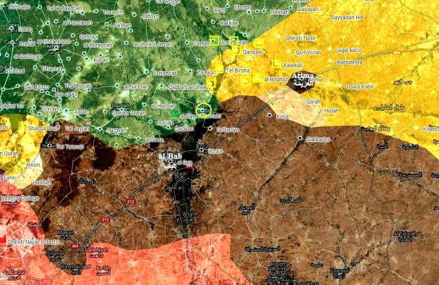 ΤΟΥΡΚΟΙ (ΤΕΔ + ΕΣΣ) vs ΚΟΥΡΔΟΙ (SDF/YPG) ανταγωνίζονται σκληρά γύρω από την Αλ Μπαμπ