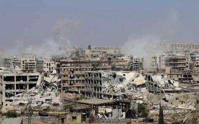 Προετοιμασία για την απελευθέρωση του ανατολικού Χαλεπίου