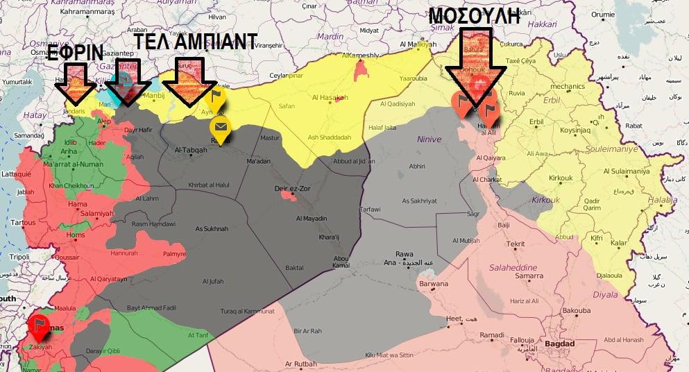 Η Τουρκία σέρνει τη Μέση Ανατολή σε ολοκληρωτικό πόλεμο – Τρεις νέες εισβολές