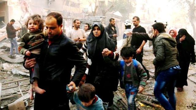 ΟΗΕ: Η μεγαλύτερη μετατόπιση πληθυσμών στον 9χρονο εμφύλιο της Συρίας έχει καταγραφεί στο Ιντλίμπ