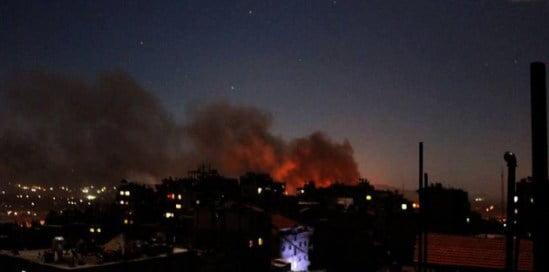 Ισραήλ: έκρηξη στην αεροπορική στρατιωτική βάση Hatzor.Η  Συρία απάντησε μέσω Χεζμπολάχ;