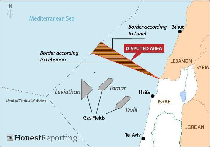Ανησυχία κλιμάκωσης Ισραήλ-Λιβάνου λόγω κοιτασμάτων…