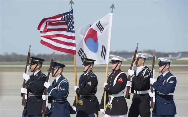 Διαβεβαιώσεις ΗΠΑ για τήρηση των αμυντικών δεσμεύσεων προς τη Ν. Κορέα