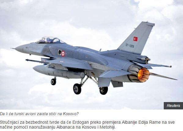 «Ο Ερντογάν θα οπλίσει τους Αλβανούς του Κοσσυφοπεδίου»- σερβικό δημοσίευμα