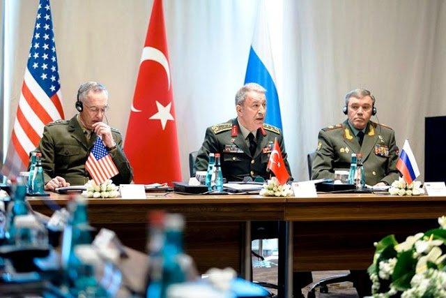 Κάτι τρέχει στη Μέση Ανατολή: Έκτακτη συνάντηση αρχηγών γενικών επιτελείων ΗΠΑ, Ρωσίας, Τουρκίας