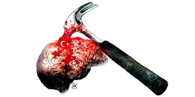 La Libre Belgique, Τουρκία: Από τη καταστολή στην αυτοκτονία (άρθρο γνώμης)